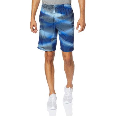 Bermuda 9-Inch Swim Volley Shorts Estampada Nike Homens P Azul