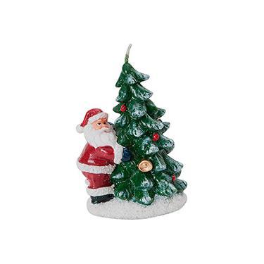 Vela Natalina Formato Árvore - Orb Christmas