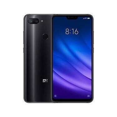 "Smartphone Xiaomi Mi 8 Lite Dual SIM 64GB Ram 4GB Tela 6.26"" Full Screen Camera Dupla OS 8.1.0 Impressão Digital - Preto"