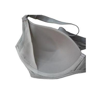 Imagem de Lingerie Mamãe Gestante Sutiã Amamentação Bojo Flexível Kit 2 Morisco 4802