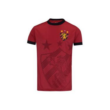 Camiseta do Sport Recife Shadow - Infantil Xps Sports Masculino