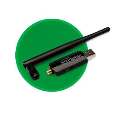Adaptador USB Wireless Intelbras IWA 3001
