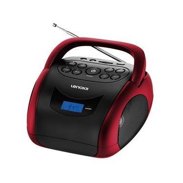 Boombox Lenoxx Bluetooth - Vermelho