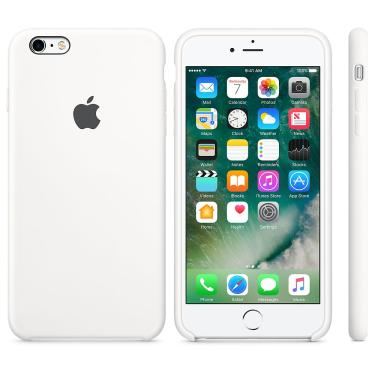 Capa p/ iPhone 6s Apple MKY12BZ/A Branco Silicone