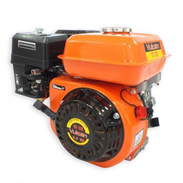 Motor Estacionário a Gasolina VM200 4 Tempos 6,5HP Partida Manual Vulcan Trent Laranja