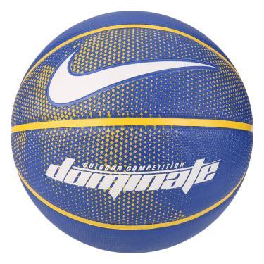 b4d75ad5f23d9 Bola Basquete Nike Dominate 8P - Azul e Amarelo