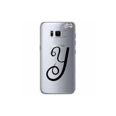 """Capa Capinha QUARK Transp para Samsung Galaxy S8 - LETRA \\""""Y\""""\"""""""""""