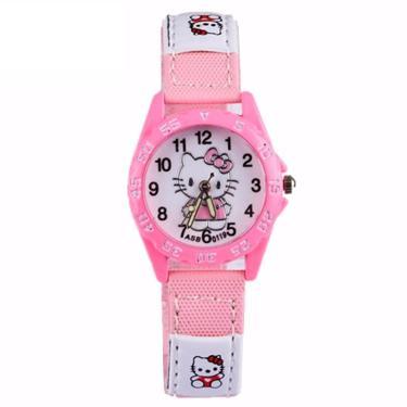 7257b09d643 Relógio Infantil Pulso Hello Kitty quartzo presente