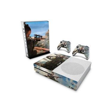 Skin Adesivo para Xbox One Slim - Sniper Elite 4