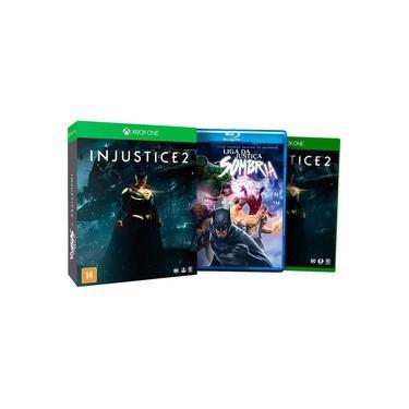 Jogo Mídia Física Injustice 2 + Filme Para Xbox One