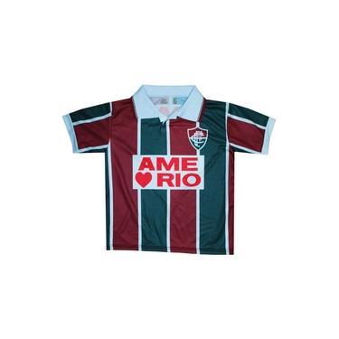 Camisa Liga Retrô Fluminense 1995 Infantil