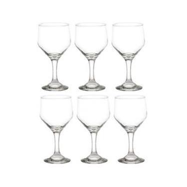 Taça Bistrô para Vinho Tinto 263ml 6 Unidades - Cisper