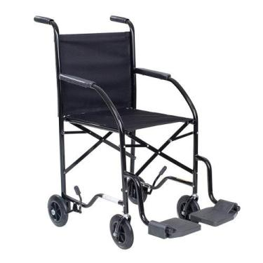 Cadeira de rodas economica preta cds