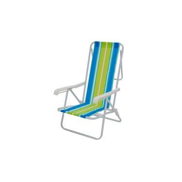 Cadeira Mor Reclinável 8 Posições 2005 - Estampas Variadas - Sortido