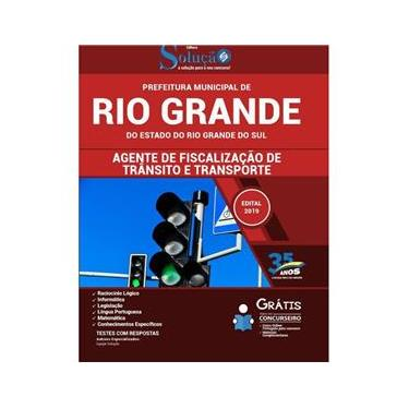 Imagem de Apostila Rio Grande Rs - Agente De Fiscalização De Trânsito