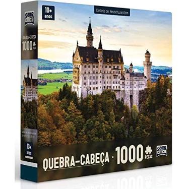 Imagem de Quebra-Cabeça 1000 Peças Castelo De Neuschwanstein - Toyster