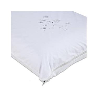 Imagem de Protetor de Travesseiro Kacyumara Impermeável Malha 50x70cm
