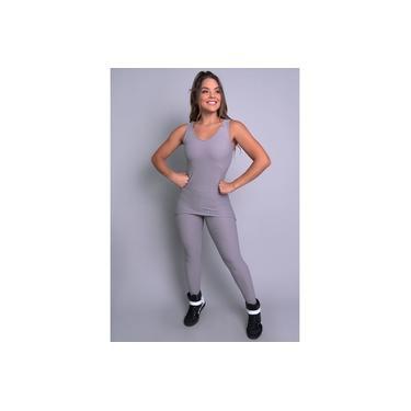 Macacão Longo Saia Tapa Bumbum Bolha Feminino Fitness Mvb Modas