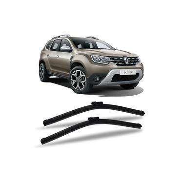 Limpador de Parabrisas Renault Duster 2012 a 2020 Dyna Slim Blade Palheta Chuva Dianteira Par