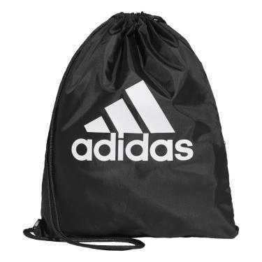 Sacola Adidas Performance Gym Bag DT2596, Cor: Preto/Branco, Tamanho: ÚNICO