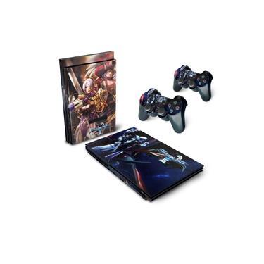 Skin Adesivo para PS2 Slim - SoulCalibur III