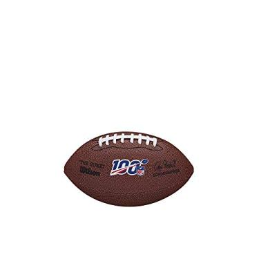"Bola de Futebol Americano Wilson - NFL 100""The Duke"" Replica Ball Mini"