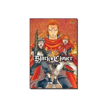 Black Clover - Volume 4 - Yûki Tabata - 9788542615609