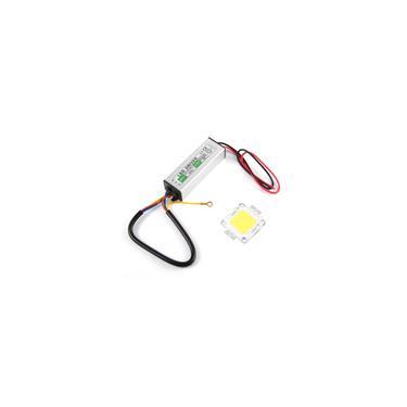 50W LED smd Chip lampadas com 50W High Power LED driver Waterproof Fornecimento