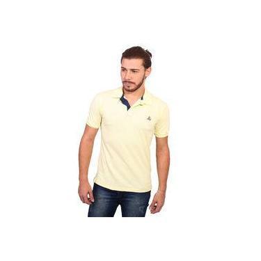 Camisa Polo Clube Náutico Slim Amarelo BB 5535d9545d006