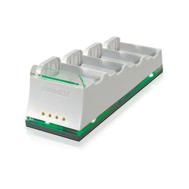 Carregador Dreamgear Quadra Dock Pro para Xbox 360 - branco (DG360-274)