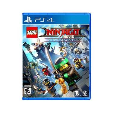 Jogo - Lego Ninjago Movie Video Game - ps4