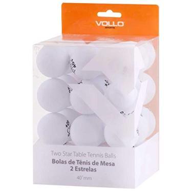 Bolas de Tenis de Mesa, Vollo Sports, Branca