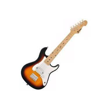 Imagem de Guitarra Eletrica Phx Infantil Criança Jr Ist Sunburst