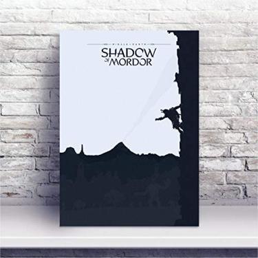 Placa MDF Jogo Middle-earth: Shadow of Mordor