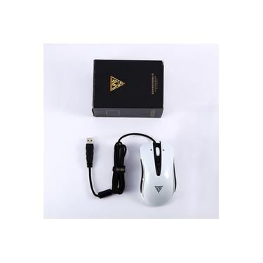 Chave de incêndio óptico ergonómico Usb Profissional Com Fio Mouses Mouse para jogos de luz LED