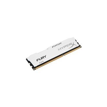 Memória HyperX Fury, 8GB, 1333MHz, DDR3, CL9, Branco - HX313C9FW/8