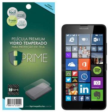 Pelicula de Vidro temperado 9h HPrime para Nokia Lumia 640, Hprime, Película Protetora de Tela para Celular, Transparente