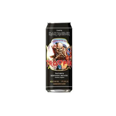 Cerveja Inglesa Trooper Iron Maiden Lata 500ml
