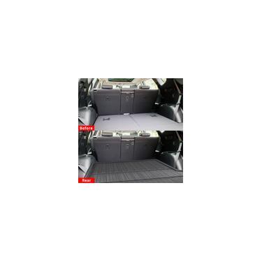 Bandeja do carro Bota Forro de Carga Tampa Traseira Do Tronco Matt Mat Forro de Bota Piso Tapete Lama Antiderrapante Para Hyundai Santa fe 2019 2020