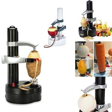 Imagem de Descascador eletrico de laranja batatas frutas e legumes automatico a pilha