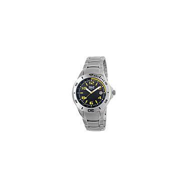 26d5df8416c Pechincha   -50% Relógio Masculino Analógico Esportivo Pulseira em Aço E194  - Everlast