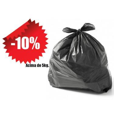 Saco De Lixo Reforçado Preto 20 Litros Kg 300304