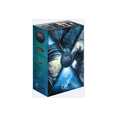 Box Livros De Games 3: Diablo Iii / World Of Warcraft / Starcraft Ii