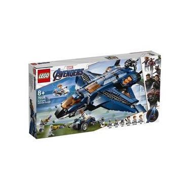 Brinqeudo Lego Marvel O Quinjet dos Vingadores 76126