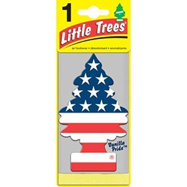 Kit de Aromatizantes Little Trees Vanilla Pride 6 Unidades