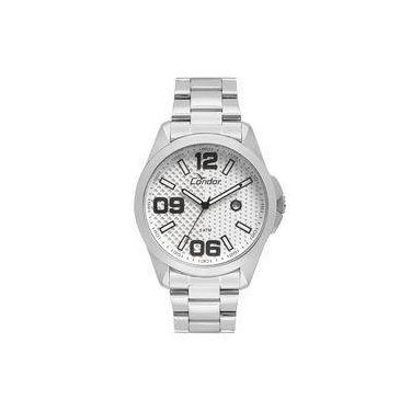 f2929100a14 Relógio Condor Masculino Speed Prata - Co2115ksy k3k
