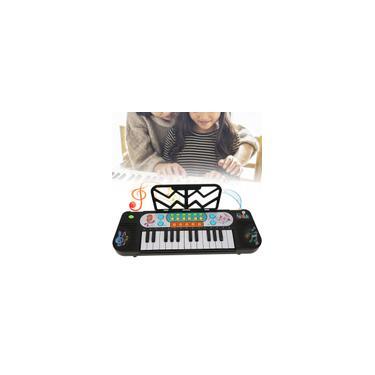 Imagem de Simulação Órgão Eletrônico, Simulação Infantil Teclado Piano Brinquedo Eletrônico Instrumento Musical Brinquedo para Crianças