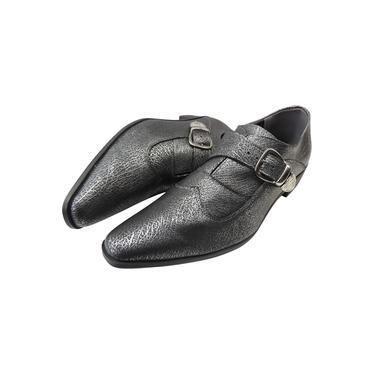 Imagem de Sapato Masculino em Couro Chumbo Envelhecido - Paris Collection Ref: 2025