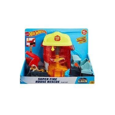 Imagem de Pista Hot Wheels Super Quartel dos Bombeiros Mattel