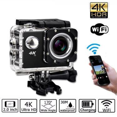 Imagem de Câmera Go Cam Ultra Pro Full Hd 4K Sport Ação A Prova D'Água